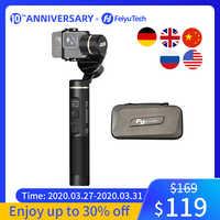 FeiyuTech G6 Splashproof Handle Gimbal Wifi + Bluetooth Action Camera stabilizer for Gopro Hero 8 7 6 5 Sony RX0 Yi 4k