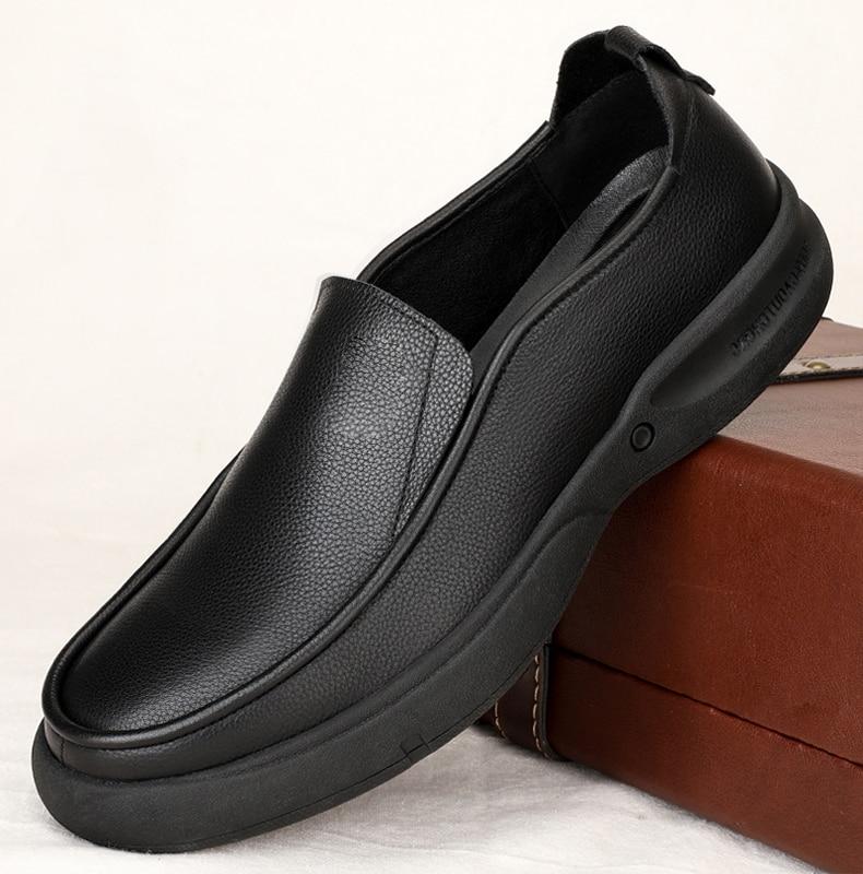 respirável de negócios masculinos sapatos casuais de