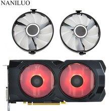 FDC10U12S9-C cooler fan substituir para xfx amd radeon rx 470 480 580 rx580 rx480 rx470 edição carmesim placa gráfica ventilador de refrigeração