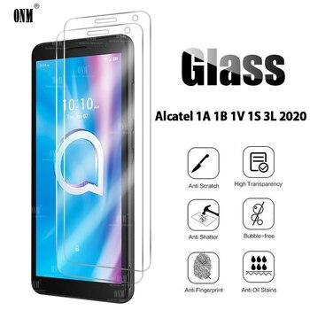 Перейти на Алиэкспресс и купить 2 шт. закаленное стекло для Alcatel 1A 1B 1V 1S 3L 2020 Защитная пленка для экрана Alcatel 1A 1B 1V 1S 3L 2020