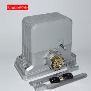 Image 2 - Ouvre porte coulissant électrique lourd de système de vitesse résidentiel/moteur de porte coulissante avec le kit de télécommande de supports en acier de 4m