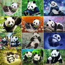 Diamond Embroidery Animal  Picture Mosaic Rhinestone Home Decoration Christmas gift 5D diy Painting Panda
