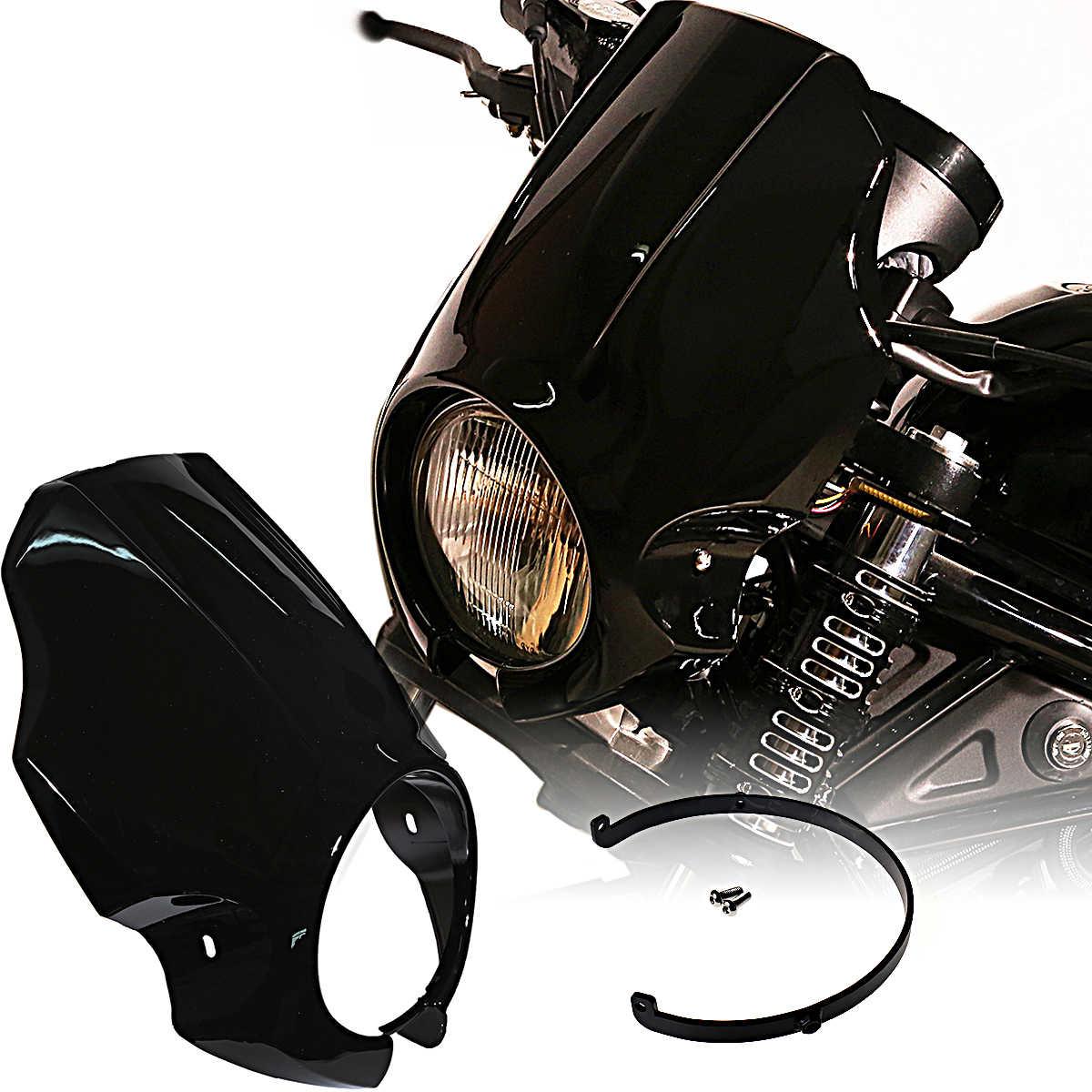 Motorrad CMX500 CMX300 Scheinwerferabdeckung Frontlicht Lampengrillschutz f/ür 2017 2018 2019 2020 Hon-da Rebel CMX 500 300 Motorradzubeh/ör Teile 17-20 Glanzschwarz