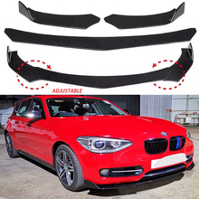 Adjustable Universal Car Front Bumper Lip Splitter Lip Body Kit Spoiler Diffuser For BMW For Benz For Audi For VW For Subaru New for 09 12 audi a4 b8 poly urethane front bumper lip spoiler