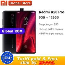 """Globale ROM Xiaomi Redmi K20 Pro 128GB di ROM 6GB di RAM Cellulare Octa Core Snapdragon 855 Anteriore 48MP Posteriore macchina fotografica 6.39 """"4000 mAh"""