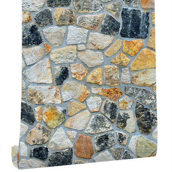 Stone Peel And Stick Wallpaper Decoration Stone Wallpaper Self-Adhesive Wall Paper For Home Decor TV Wall Easy to Peel Stick цена 2017