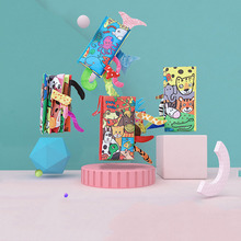 Cartoon animal tupian baby toy three-dimensional puzzle educational book children early education enlightenment suitable