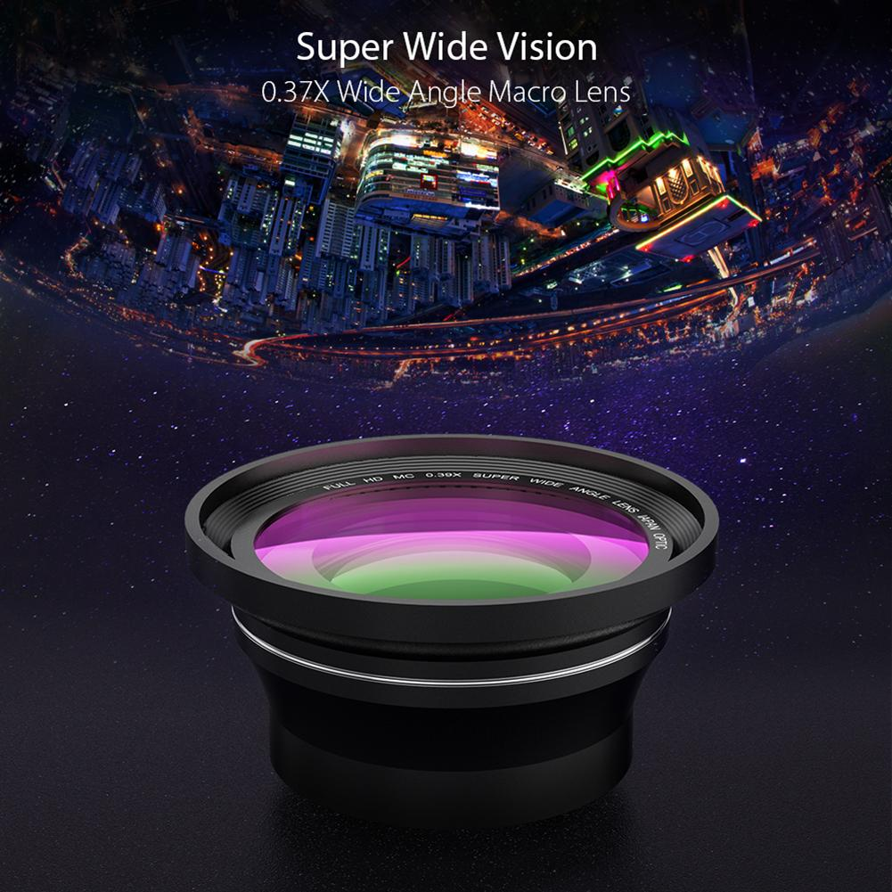 4K WiFi Ultra HD 1080P 48MP 16X ZOOM caméra vidéo numérique caméscope + Microphone + objectif grand Angle - 5
