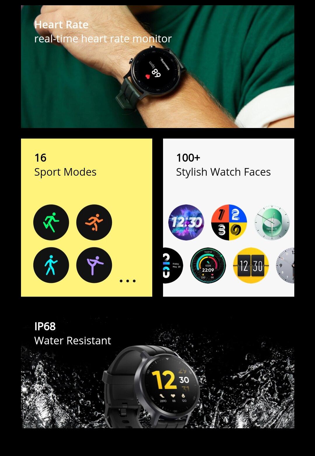 realme Watch S Smartwatch
