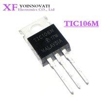 100 pçs/lote TIC106 TIC106M TIC106S TO 220 IC original Novo