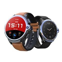 KOSPET Prime smartwatch z funkcją telefonu 4G LTE 3GB 32GB z 1.6 Cal wyświetlacz Face ID 1260mAh podwójny aparat ceramiczna ramka szkiełka zegarka IP67 wodoodporna