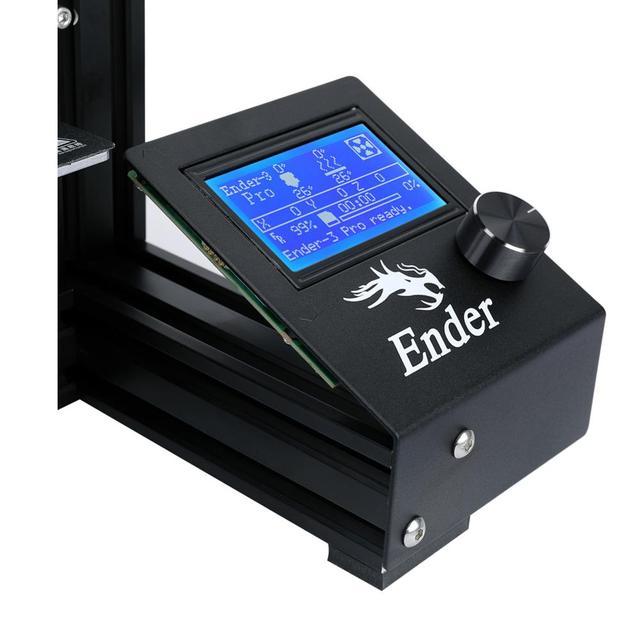 Ender-3 Pro 3D impresora DIY Kit de actualización de la energía de la placa de construcción Cmagnet tamaño de impresión grande 220*220*250 ender 3prox Creality 3D