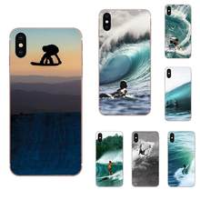 Surf Tumblr Soft Cell Phone Shell For Huawei Nova 2 V20 Y3II Y5 Y5II Y6 Y6II Y7 Y9 G8 G9 GR3 GR5 GX8 Prime 2018 2019(China)
