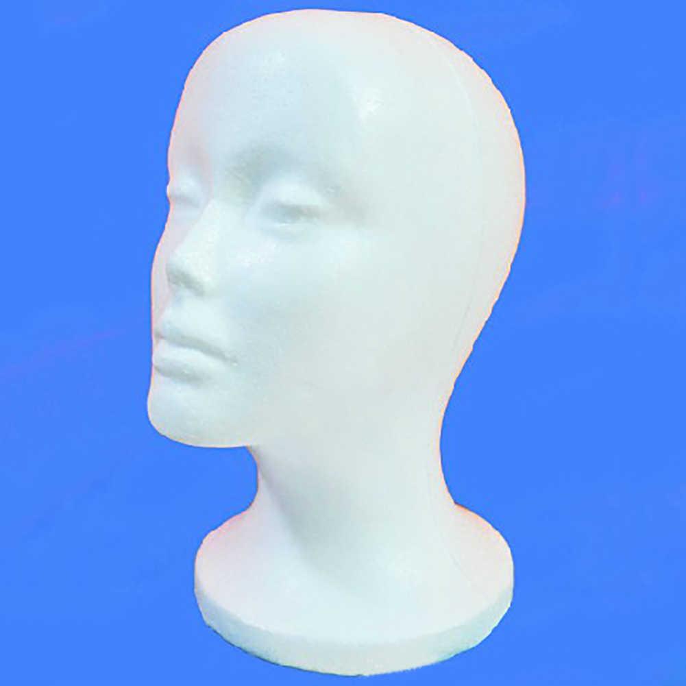 Kadın köpük manken başkanı modeli şapka peruk takı tutucu mağaza ekran standı raf