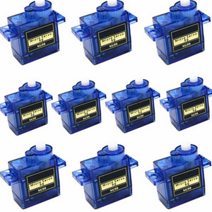 5/10pcs/lot 100% NEW Wholesale SG90 9G Micro Servo Motor For Robot 6CH RC Helicopter Airplane Controls for Arduino RC Car Model