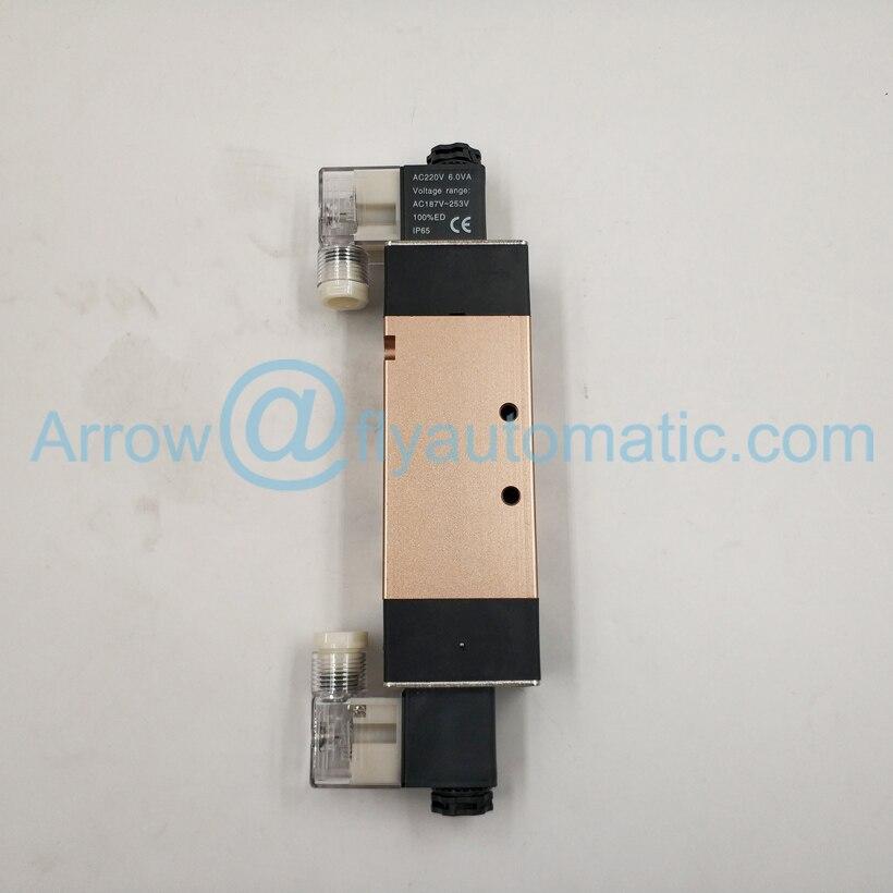 """4V420-15 1/"""" Airtac 5/2 способ 4V400 серии двойная катушка соленоидного клапана"""