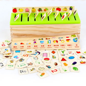 Pattern Classification Mathematical knowledge Classification Children Montessori Early Education Toys wooden Box Girls And Boys individual experiences with montessori and traditional education