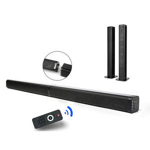 Speaker Soundbar Surround-Sound-System Bluetooth Home-Theater USB 40W AUX with 3D Daul