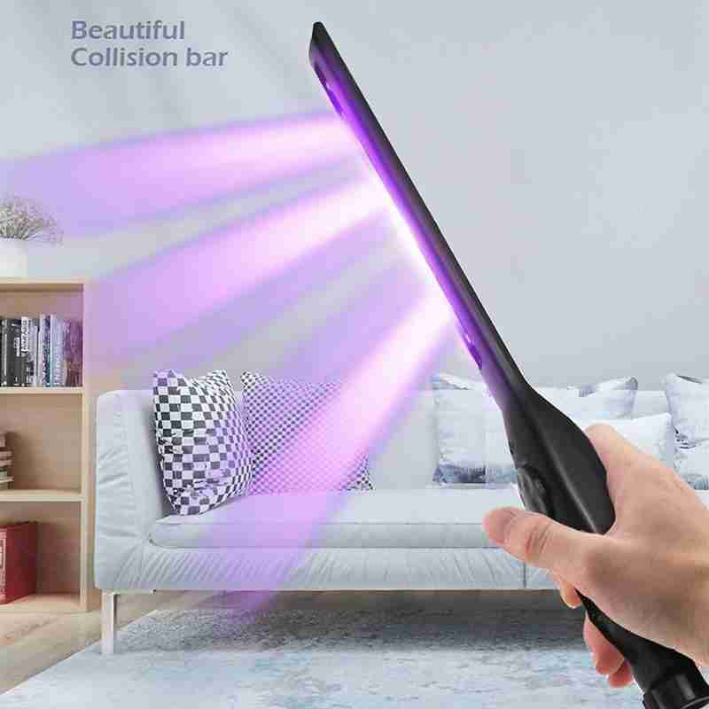 Handheld UV Disinfection Lamp- 1.8W Portable UVC LED Lamp Hand-held Sterilizer For Home Office Travel Disinfection Antibacterial