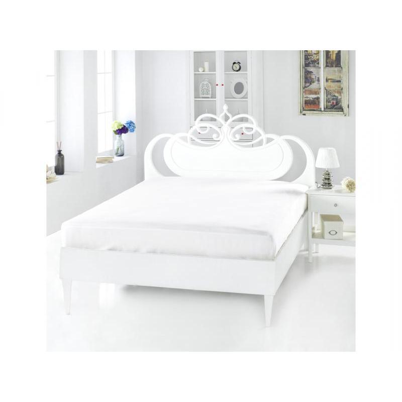 Простыня KARNA, SERVAN, 160*240 см, белый