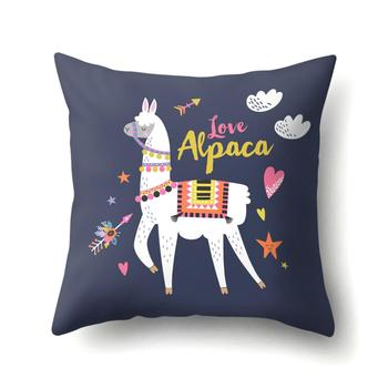 Love Llama Cushion Cover