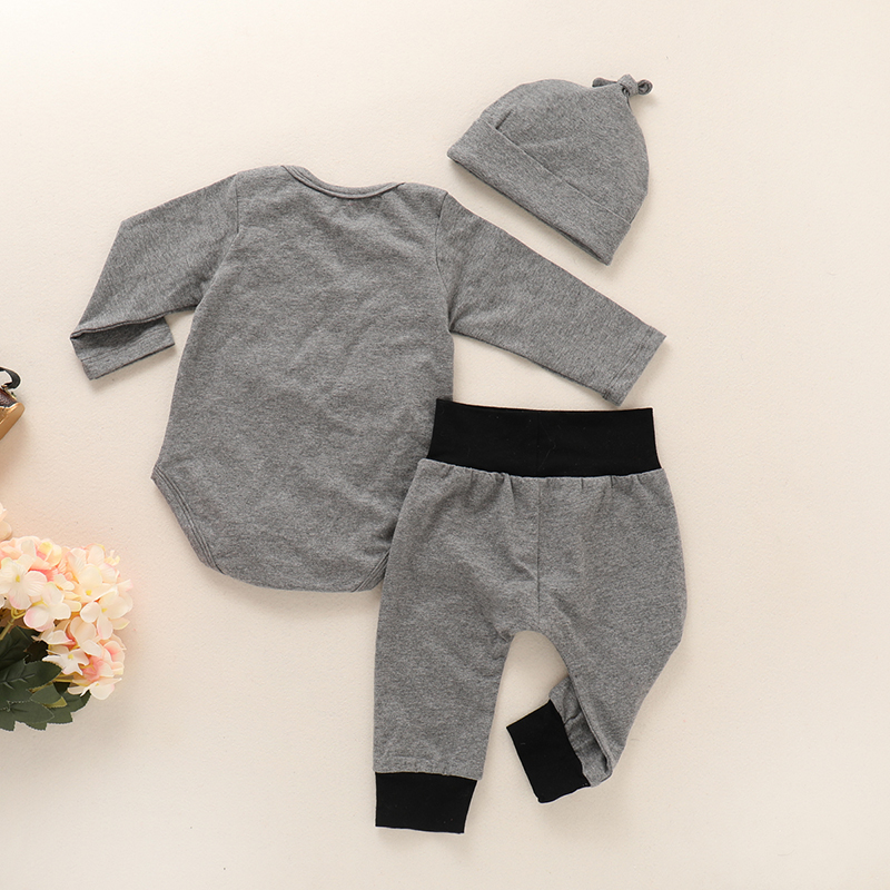 Infant clothing Baby Suit Baby Boys Clothes Toddler Clothing Set Newborn clothes Bodysuits Long Sleeve Pant