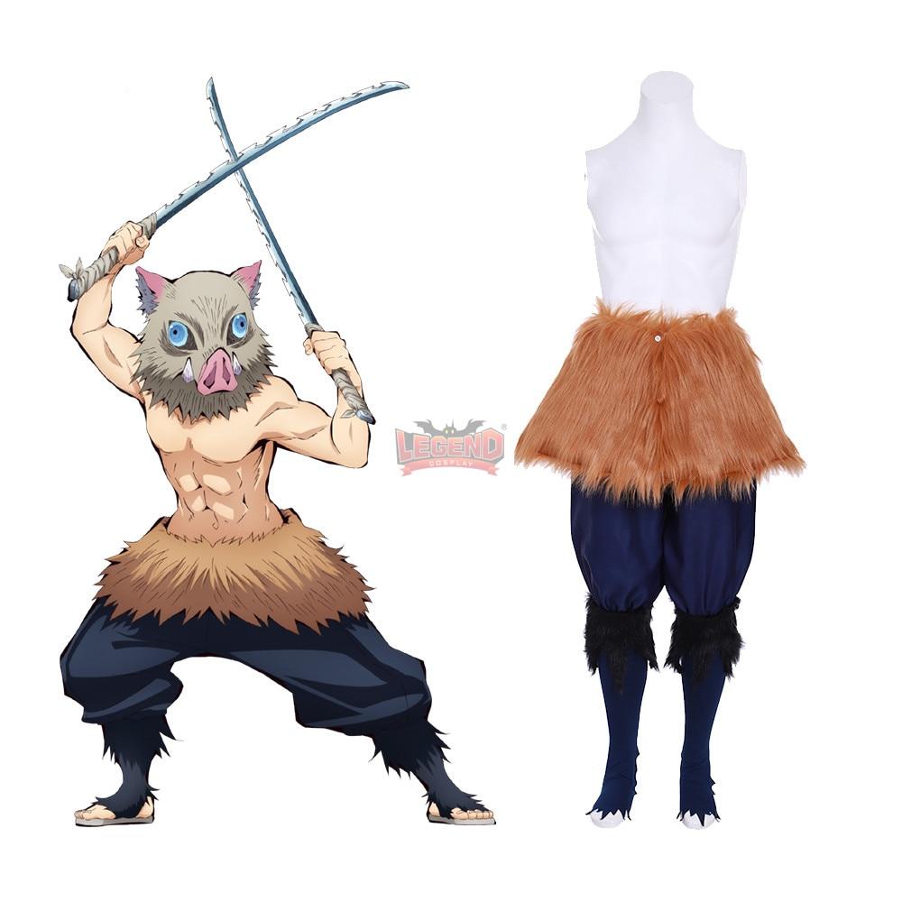 Cosplaylegend Anime Demon Slayer: Kimetsu No Yaiba Inosuke Hashibira Cosplay Costume Adult Outfit Male Custom Made