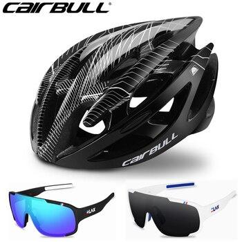 Cairbull capacetes de bicicleta masculina mulher capacete de bicicleta de estrada de montanha integralmente moldado capacetes de ciclismo 1