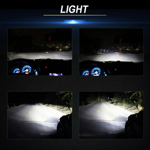 Image 2 - BraveWay หลอดไฟ LED AUTO LED ICE หลอดไฟ H4 H7 H11 LED ไฟหน้า 9005 9006 HB3 HB4 ไฟหน้า 12000LM 6500K 80W 12V รถ (LED)