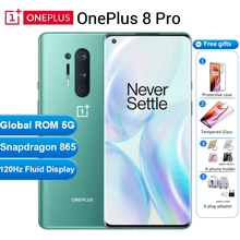 Global ROM Oneplus 8 pro 5G Mobile Phone 12GB 256GB /8GB 128GB 6.78″ 120Hz Snapdragon 865 48MP 30W 4510mAh NFC 5G Smartphone
