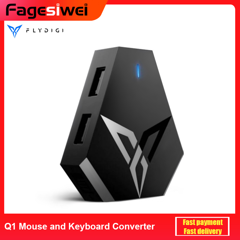 Flydigi Q1 Mouse and Keyboard Converter For All Game PUBG Android IOS IPad Controller Gamepad Bluetooth Connection(China)