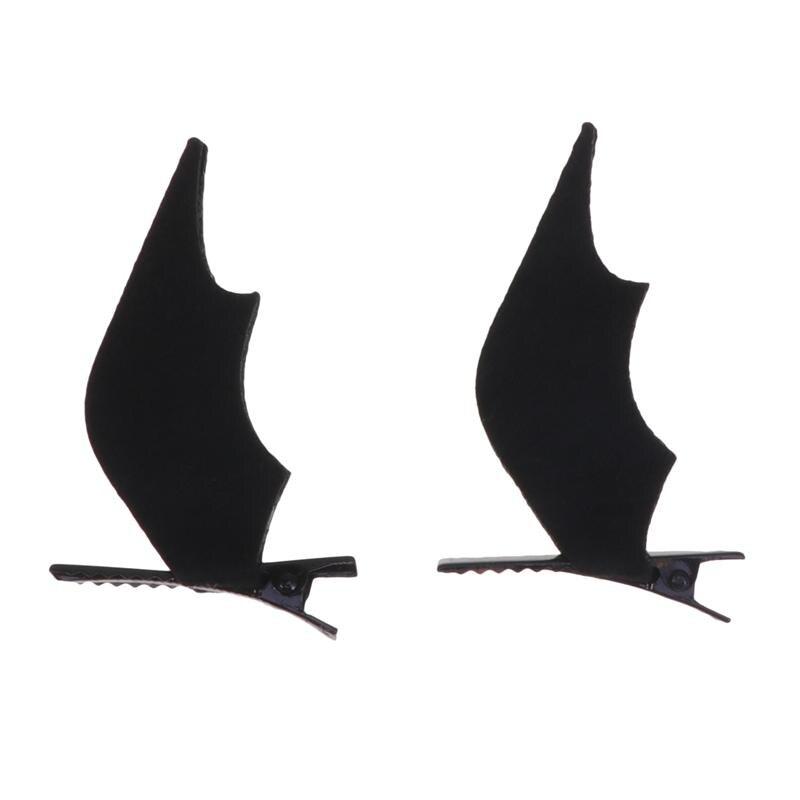 Cute Bat Horn Spider Hair Pin Clip Clamp Hair Band Headband Halloween Cosplay
