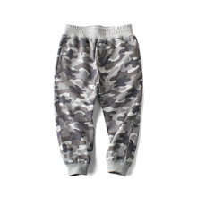2019 New Autumn Children Camouflage Pants Cotton Sweatpants For Boys  Long Trousers Baby Sports 2-8 Years