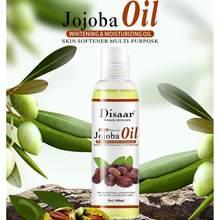 Disaar-aceite de Jojoba orgánico Natural, masaje para el cuidado de la piel, tono hidratante, aceite esencial para aliviar el estrés, relajante, T0T4, 100ml
