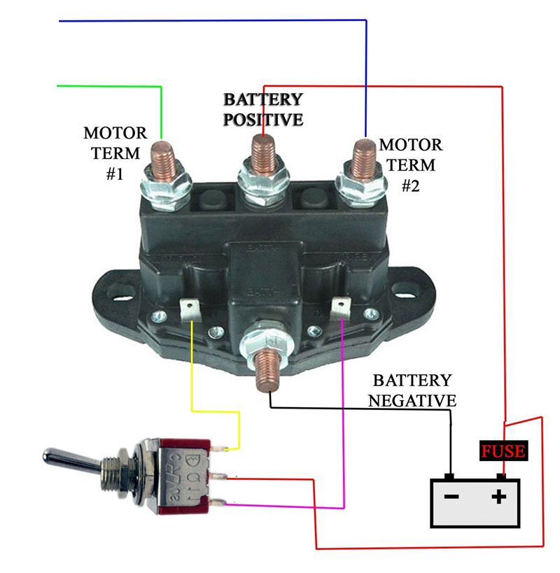 [DIAGRAM_38IU]  150A RELAY WINCH MOTOR REVERSING SOLENOID SWITCH NEW 12 VOLT Bi Directional  12V|Car Switches & Relays| - AliExpress | Wiring Diagram Reversible 12 Volt Motor |  | AliExpress