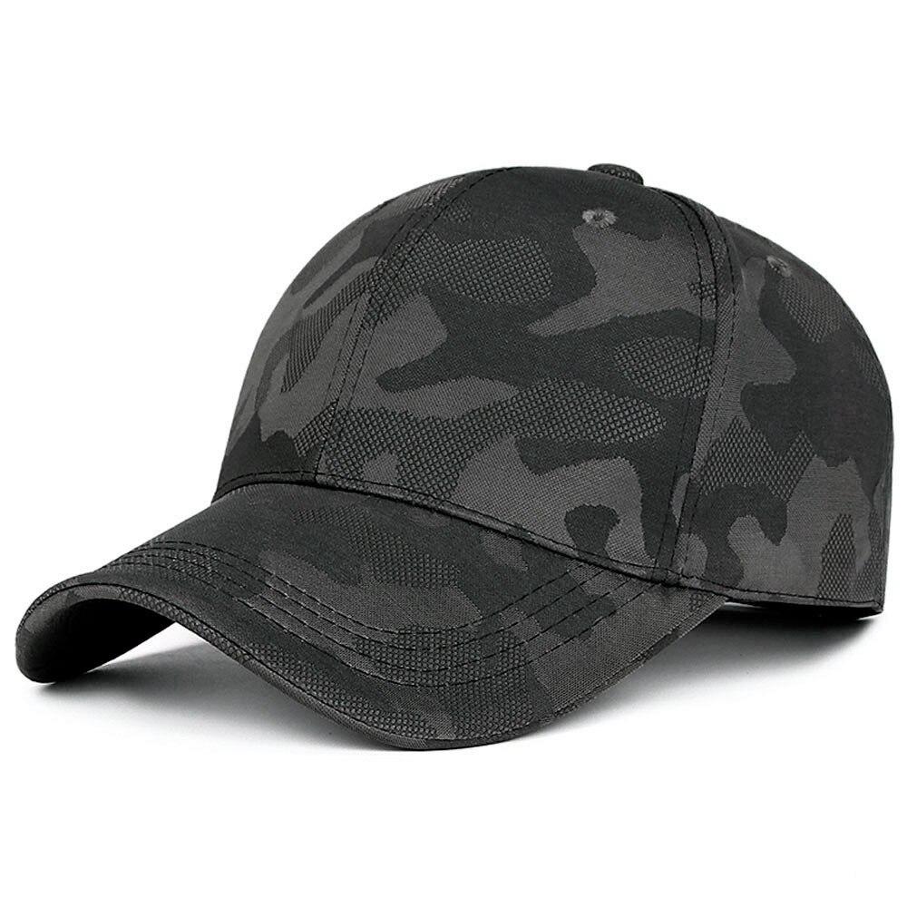 Gorra de camuflaje ajustable para hombre y mujer, gorro de camuflaje militar, informal, para desierto