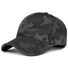 New Fashion Adjustable Unisex Army Camouflage Camo Cap Casqu
