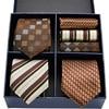 Floral Necktie & Handkerchief Sets 4