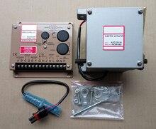 1 pces ADC225 12V ou ADC225 24V gerador atuador adc225 12v ou adc225 24v + 1 pces controlador de velocidade esd5500e governador + 3034572