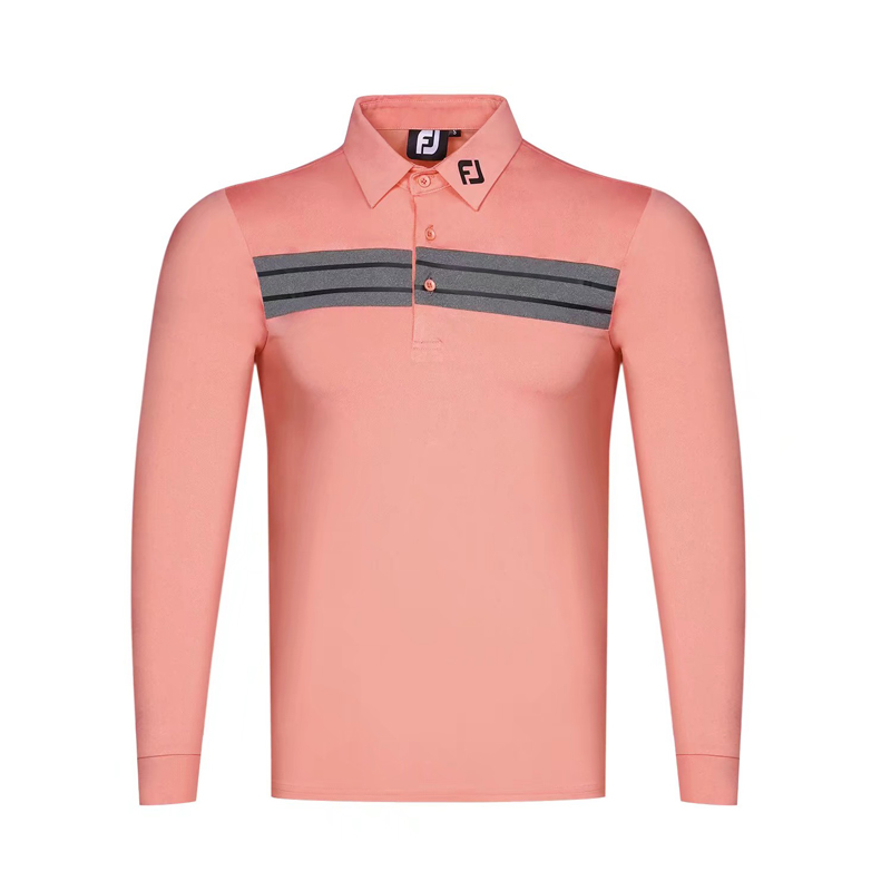 Swirling 2019 New Golf Apparel Men's FJ Golf T-Shirt Comfortable Breathable Golf Long Sleeve S-3XL T-Shirt Free Shipping