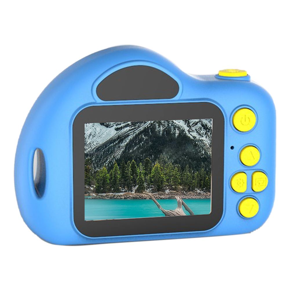 Mini Video Recording Toy Easy Operate LCD Screen Bluetooth Gift Portable Children Song ABS Funny Photo Kids Camera Cute
