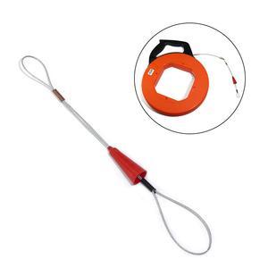 Image 2 - 5 Pcs חשמלאי לדחוף Pullers צינור אדום חוט מתיחה דגים קלטת אטב כלי עבור חשמל דגי קלטת כבל פולר