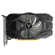 Yeston GTX1050TI-4G D5 1291/1392MHz 4G/128Bit/GDDR5 DVI-D + HDMI + DP pci-express 3.0x16 jeu d'ordinateur carte Ie