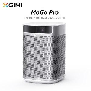 Xgimi xk03s mogo pro projetor dlp 1920*1080 4k 250ansi android 9.0 2gb 16 amlogic t950x2 3d casa teatro 2.4/5ghz wifi bt5.0