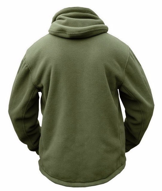 Tactical Hunting Apparel for Men  Solid Thermal Winter Jacket  Military Jacket  Hunting Clothes Soft Breathable Hooded Coat 3