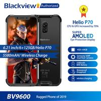Blackview BV9600 Rugged Waterproof Helio P70 Global 4G Mobile Phone 6.21 Android 9.0 Smartphone 4GB RAM 64GB MT6771T 5580mAh