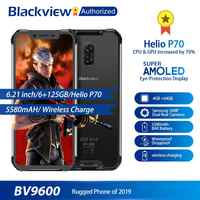 "Blackview BV9600 robuste étanche Helio P70 Global 4G téléphone Mobile 6.21 ""Android 9.0 Smartphone 4GB RAM 64GB MT6771T 5580mAh"