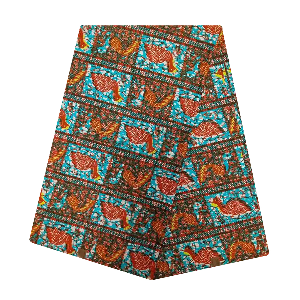 Ghana African Wax Holland Fabric Cotton Veritable Netherlands Print Nigerian Ankara Tulle Wax Pange Cloth For Batik