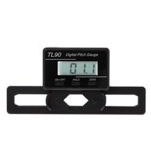 TL90 цифровой измеритель Наклона ЖК-дисплей подсветка дисплей лезвия угол измерительный инструмент