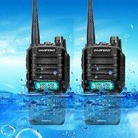 2pcs walkie talkie Baofeng UV 9R plus upgraded version cb radio comunicador waterproof walkie talkie рация